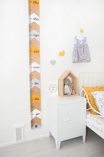 OnWood mustard growth chart | the perfect growth chart for your baby
