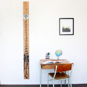 growth chart giraffe